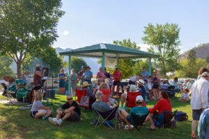 Photo from the GarCo Dems 2021 Summer Picnic.